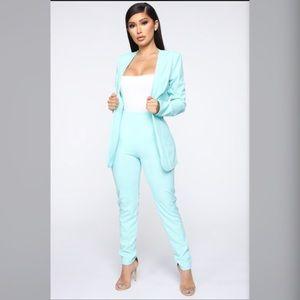 Fashion Nova matching blazer set